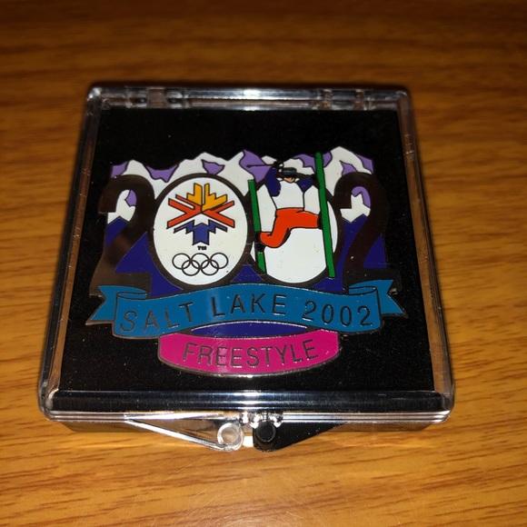 2002 Olympic Pin